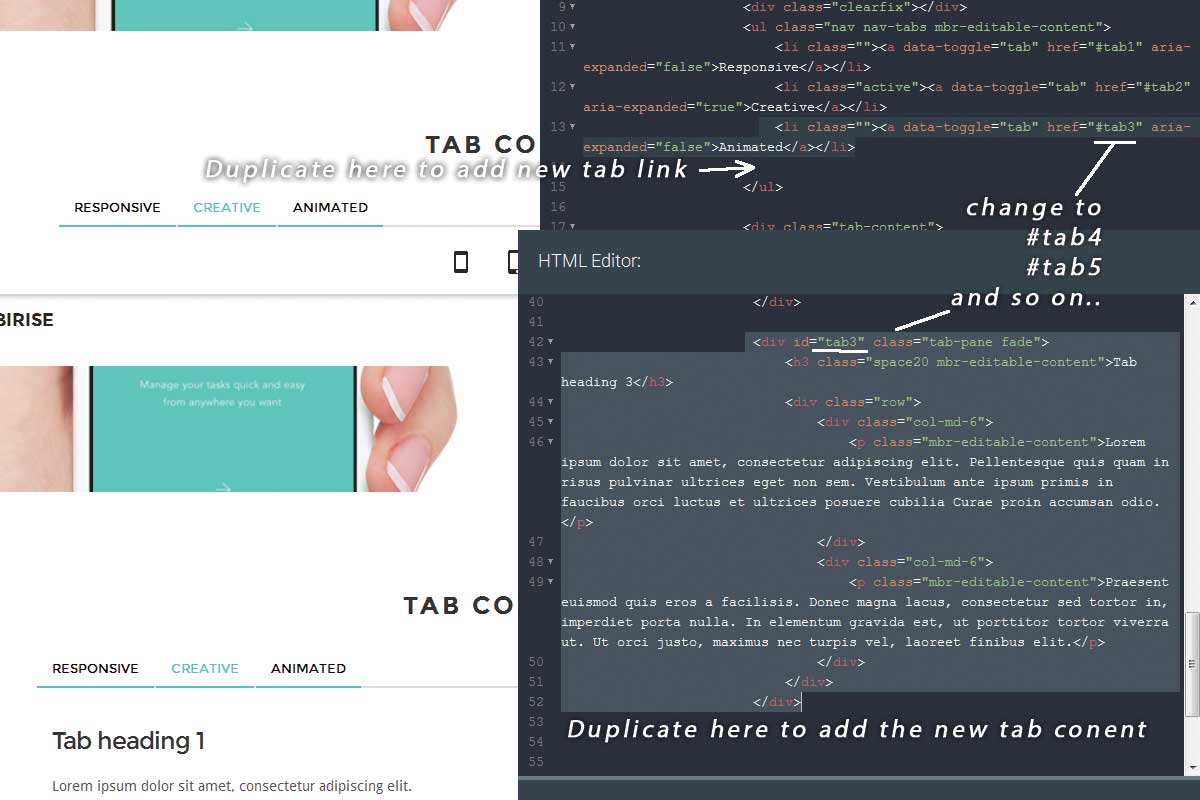 Simple Bootstrap Landing Page Theme Tutorial