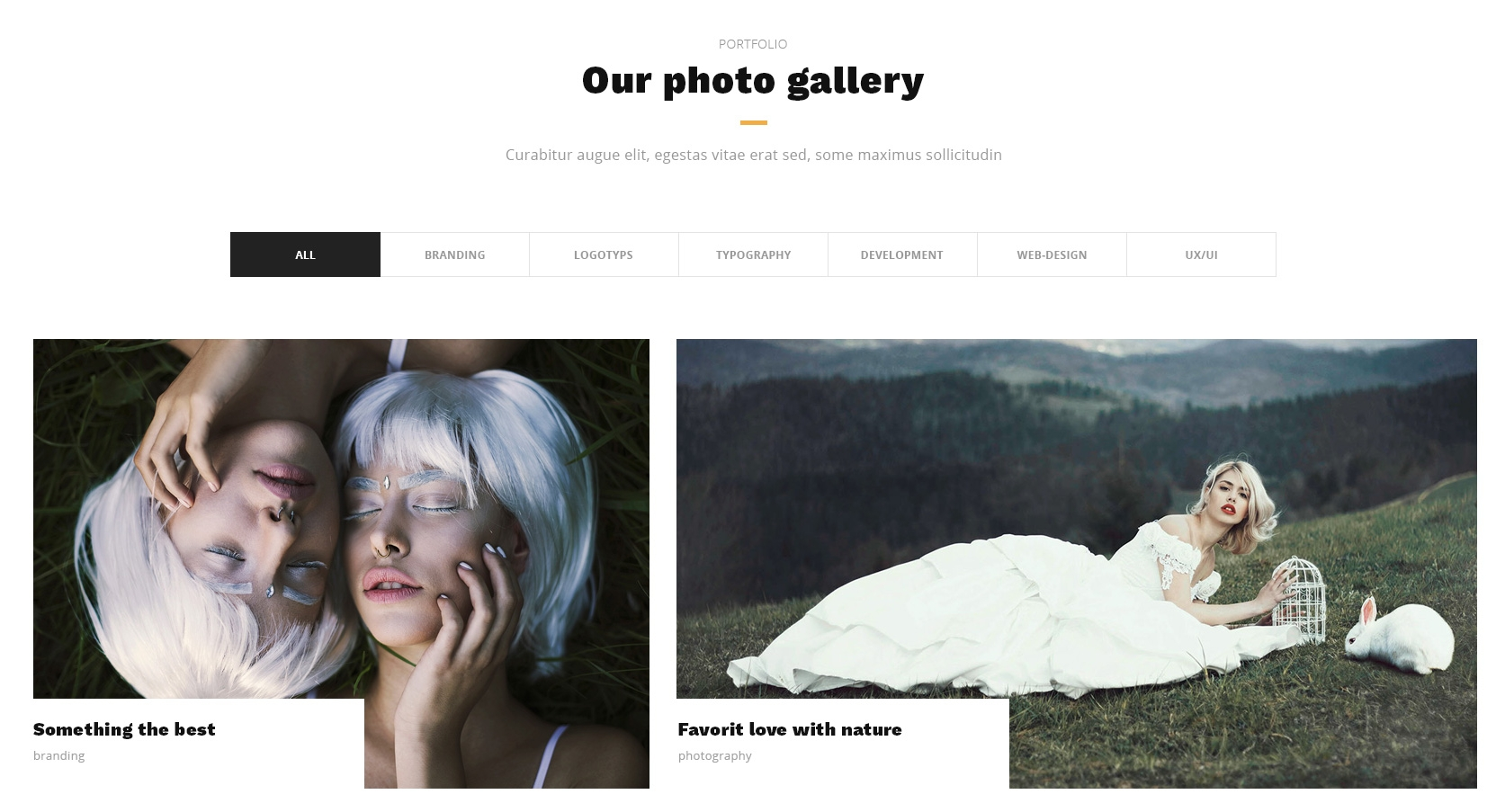 CSS3 Bootstrap Simple Theme