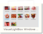 Web Photo Gallery Windows version - Main Window